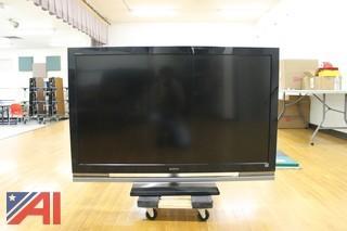 "(3) Sony Bravia 52"" LCD TV's"
