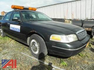 1999 Ford Crown Victoria 4DSD/Police Interceptor