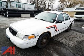 2009 Ford Police Vehicle 4 Door/Police Interceptor
