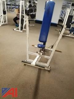 Vertical Chest Press Exercise Equipment