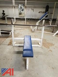 Flat Military Bench Press