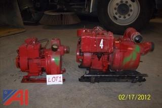 "2"" and 3"" Water Pumps"