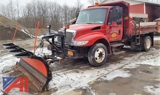 2005 International 4200 Dump Truck with Plow