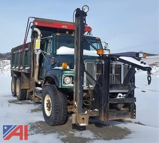 2002 International F2674 6x4 Dump Truck with Plow