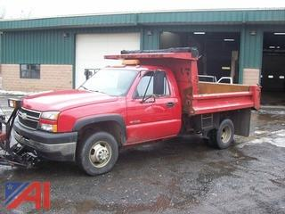2006 Chevy 3500 Dump Truck with Plow