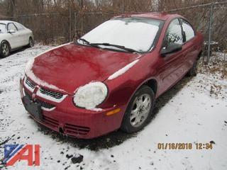 2005 Dodge Neon 4 Door