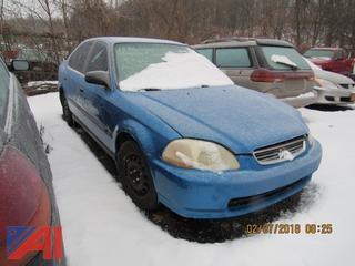 1996 Honda Civic 4 Door