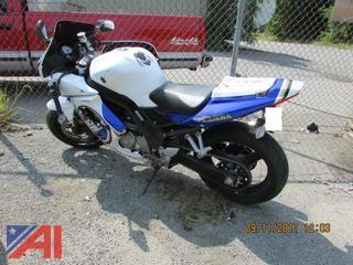 **Lot Updated** **Mileage added** 2009 Suzuki SV650 Motorcycle