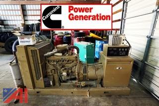 Cummins 45/56 kW/KVA Natural Gas Standby Generator