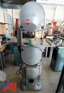 "Rockwell/Delta 14"" Vertical Band Saw"