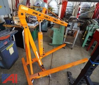 Central Hydraulics 8 Ton Foldable Engine Crane