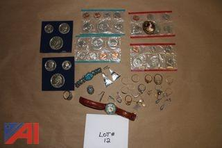 Jewelry and Coin Lot