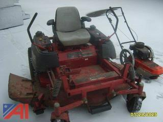 2004 Four Wheel Ferris Mower and Ariens DR Walk Behind Trimmer