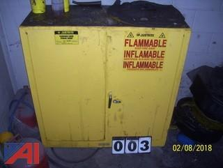 Just Rite Flammable Cabinet