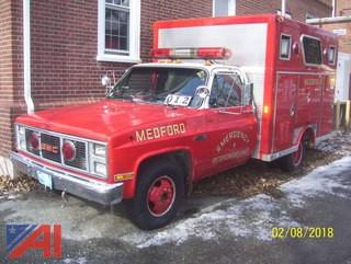 1986 GMC 3500 Rescue