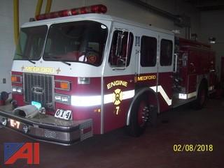 1992 E One Federal Protector H223 Pumper