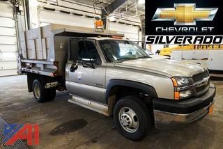 2003 Chevy Silverado 3500 Dump Truck