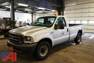2003 Ford F250 XL SD Pickup Truck