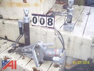 (4) Amkus Hydraulic Tools