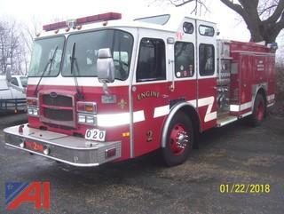 2002 E One Typhoon Pumper
