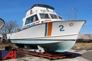 1990 Columbia 37 foot Hull