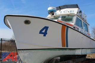 1982 Harris 35 foot Hull