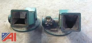 (2) Prodeva 95-2 Glass Crushers