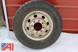 (1) Tire and Rim