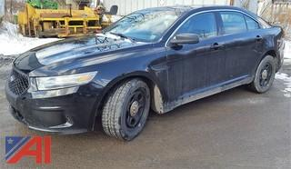 2013 Ford Taurus 4DSD/Police Vehicle