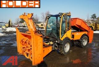 2007 Holder C4.74 Municipal Multipurpose Tractor with Attachments