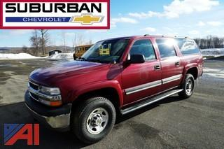 2005 Chevy 2500 Suburban 4WD SUV