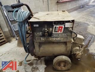 L&A 7600 Series Hot/Cold Pressure Washer