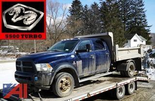 2014 Dodge Ram 5500 Crew Cab Dump Truck