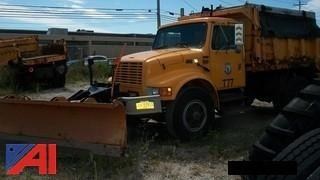 1995 International 4700 Dump with Plow and Sander
