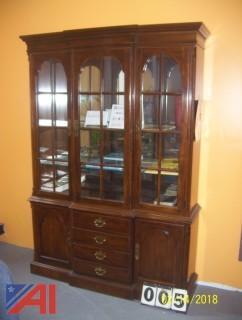 Drexel Heritage Lighted Cabinet
