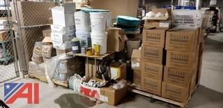 Lot of Assorted Custodial Cleaning Supplies