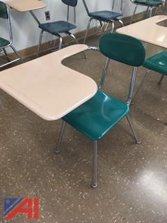 (147) Lot of Combination Desks