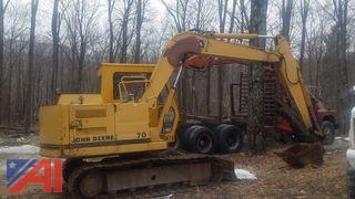 1986 John Deere 70 Excavator