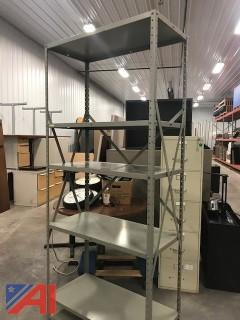 (1) 5 Shelf Shelving Unit