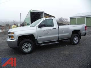**4% BP** 2016 Chevy Silverado 2500HD Pickup