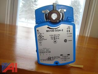 (60) Johnson Controls Actuators/Damper Motors