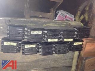(10) Westinghouse Circuit Breakers