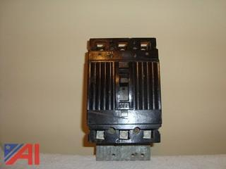 General Electric 3 Pole and 1 Pole Circuit Breakers