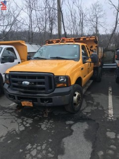 2007 Ford F350 SD Pickup with Dump and Plow