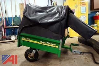 JD MC519 Power Flow Cart/Bagger