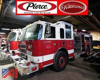 1999 Pierce Saber Pumper Truck #F-315