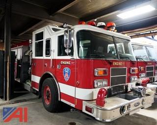 1999 Pierce Saber Pumper Truck #F-314