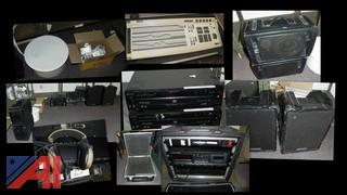 Speakers, Mixer, CD Players, Travel Cases and More
