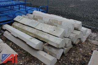 Concrete Parking Lot Stops