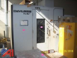 DevilBiss Pro-Mix Booth